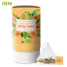 Benutzerdefinierte 28 Tage Detox Tee Körper reinigen schnell Gewicht verlieren Skinnyfit Tee / Skinnfit Detox Tee