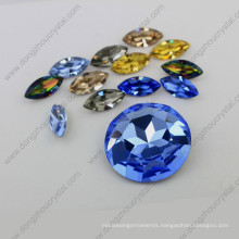 Round Loose Crystal Beads Point Back Jeweelry Stones (DZ-3001)