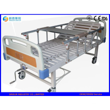 Stainless Steel Single Crank Manual Hospital/Medical Bed