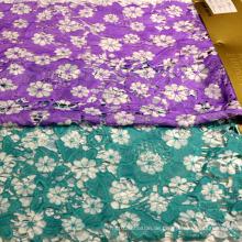Dekorative Stoffe bedruckte Spitze Textil