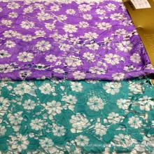 Decorative Fabric Printed Lace Textile