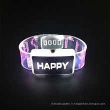 Nouveau Prouct Mariage 2017 Joyeux Led Clignotant Bracelet