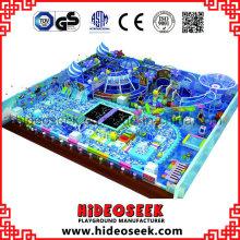 Ocean Theme Ce Standard Gran estructura de juego cubierta para niños
