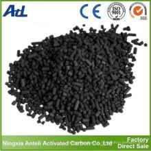 forme cylindrique du charbon actif à la vapeur d'un diamètre de 4 mm pour la purification de l'air
