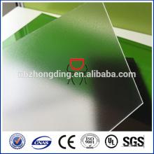policarbonato transparente PC hoja helada