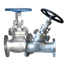 Válvula de Globo de Aço Inoxidável ANSI com Operação Manual