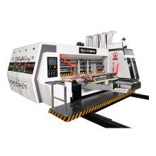 Full automatic flexo single printing slotting machine