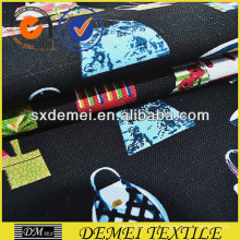 Chine textile de tissu coton imprimé tropical