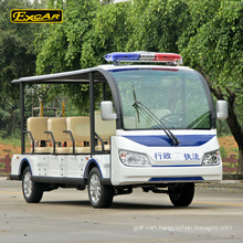 EXCAR 11 seater electric sightseeing bus shuttle bus tour car electric office bus