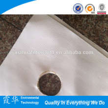 Filter press filter material for food industry