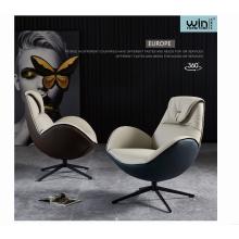 Италия современный дизайн с высокой спинкой бархатный диван-кресло