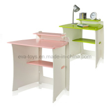 Children Study Desk with Shelf (WO8G093)