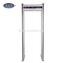 High accuracy security checking body scanner,airport metal detectors PD6500i with 33 Zones