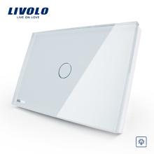 US / AU standard Livolo fait interrupteur mural VL-C301R-81 interrupteur à distance de mode blanche haute qualité coupe-feu à distance