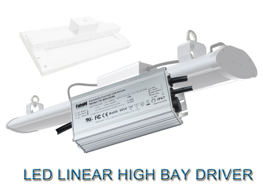 High Bay Linear LED Driver