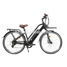 Nouveaux produits longue distance 700C vélo de ville électrique à vendre