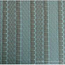 Polyester und Spandex Jacquard Lace Stoff