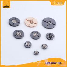 Круглая форма Пользовательские металлические швейные пуговицы для пальто BM10815