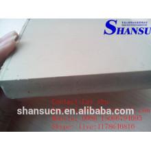 Weißes PVC-bedruckbares Schaumbrett für Zeichen, heißer Verkauf 2015 China-Fabrik-PVC-Schaumkernvorstand