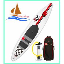Hochwertiges aufblasbares Drop Stitch Race Board, Longboard