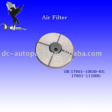 Auto Round Synthetic Fiber Air Filter