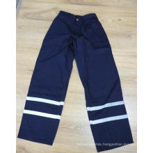 Navy Blue Refelctive Pants with 3mxq25 Tape