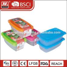 Mikrowellen-Kunststoff-Lebensmittel Behälter (0,5 L) 2St