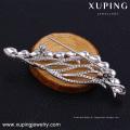 Broche de strass para convites de casamento feitos com cristais de Swarovski, broche de elemento