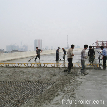 Popular Self Leveling Screed Concrete Vibrating Truss Screed For Construction FZP-90