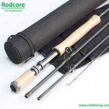 Primärer Pr9012-4 Hochmodul Carbon Fast Action Fliegen Rod