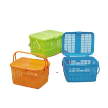High quality non toxic plastic basket for picnic