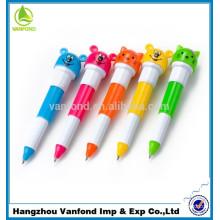 Hot selling cat pen / Flexible Ballpoint Pen / plastic ballpoint pen