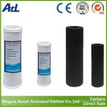 Кокосовое активированным углем из скорлупы ядра со значением йода 1050 мг/г
