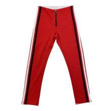 SS2021 GIRLS KNITTED FANCY PLAIN  PANT WITH STRIPE TAPE Bottom
