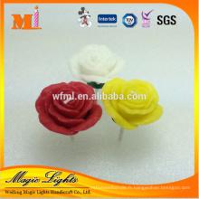 Bougie de mariage en forme de fleur colorée en forme de mariage