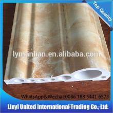 Linea de decoracion interior de PVC en mármol artificial
