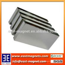 Gesintertes Rechteck Neodym Magnete maßgeschneiderte / Blockmagnet für permanente Gerenation