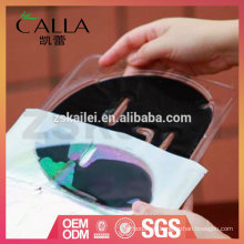 Ventas calientes Máscara de esencia de colágeno de carbón que reduce