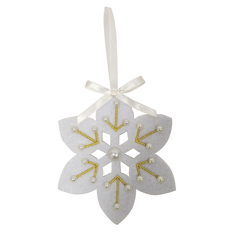 Christmas Snowflakes Tree Ornament
