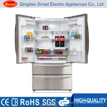 No Frost Porta francesa Refrigerador lado a lado com Icemaker