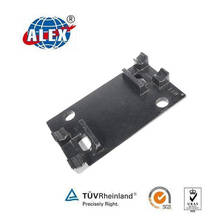 Plain Oiled Tie Plate Provided by Railway Parts Supplier