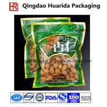 Plastic Custom Dry Fruit Packaging Ziplock Bag with Colorful Printing
