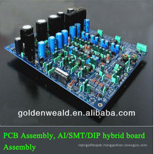 assembled led pcb Timer pcba assembly/printed circuit board assembly