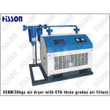 1cbm/30kgs Air Dryer with CTA Three Grades Air Filters