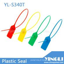 Folha de travamento de metal inserida na vedação do recipiente de plástico (YL-S340T)