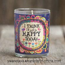 2016 neue Design duftende Soja-Kerze in Candy Jar