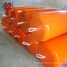 Polyurethane foam filled fenders for yacht or ship usages