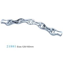 Poignées en fer de fer en fer de fer en alliage de zinc (21801)