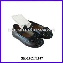 La marca de fábrica SR-14CFL147 embroma los zapatos calza los zapatos baratos de los cabritos de los zapatos de China del cabrito