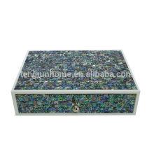 New zealand paua seashell decorative jewelry case hotel production